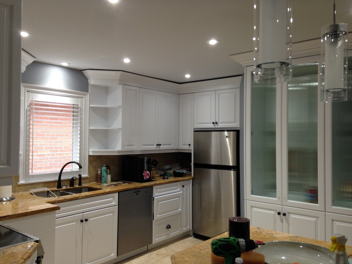 Theiner Painting kitchen renovation
