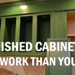What you should really know about unfinished cabinetry