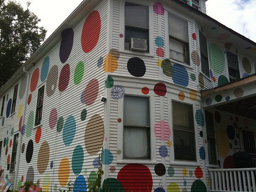 Creative exterior painting can build business