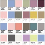 Softly, softly: Colours of the year for 2016