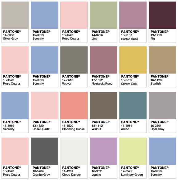 Colour trends for 2016