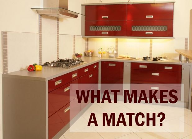 Match your paint colour to your countertops